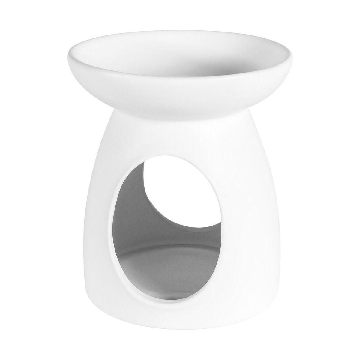 Kominek Ceramiczny Creations Wys 11 4 Cm Bialy Swieczniki Latarenki W Atrakcyjnej Cenie W Sklepach Leroy Merlin