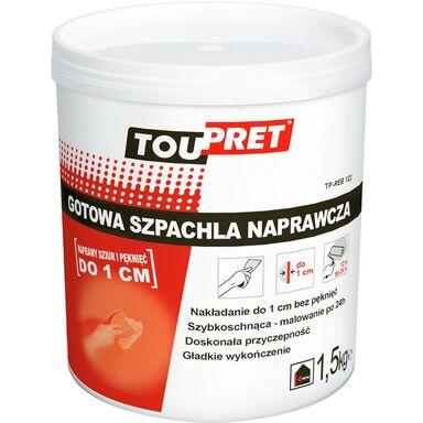 Szpachla naprawcza GOTOWA 1.5 kg TOUPRET