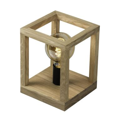 Lampa stołowa KAGO drewniana E27 SPOT-LIGHT
