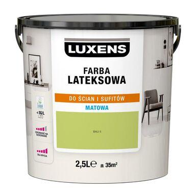 Farba wewnętrzna LATEKSOWA 2.5 l Bali 5 LUXENS