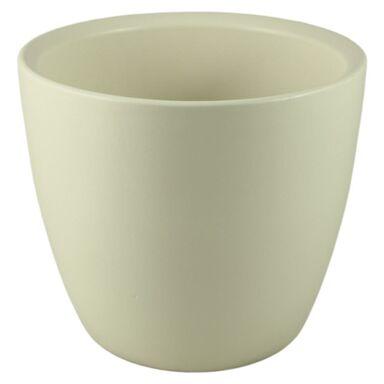 Osłonka ceramiczna 21 cm kremowa 30121/023 CERMAX