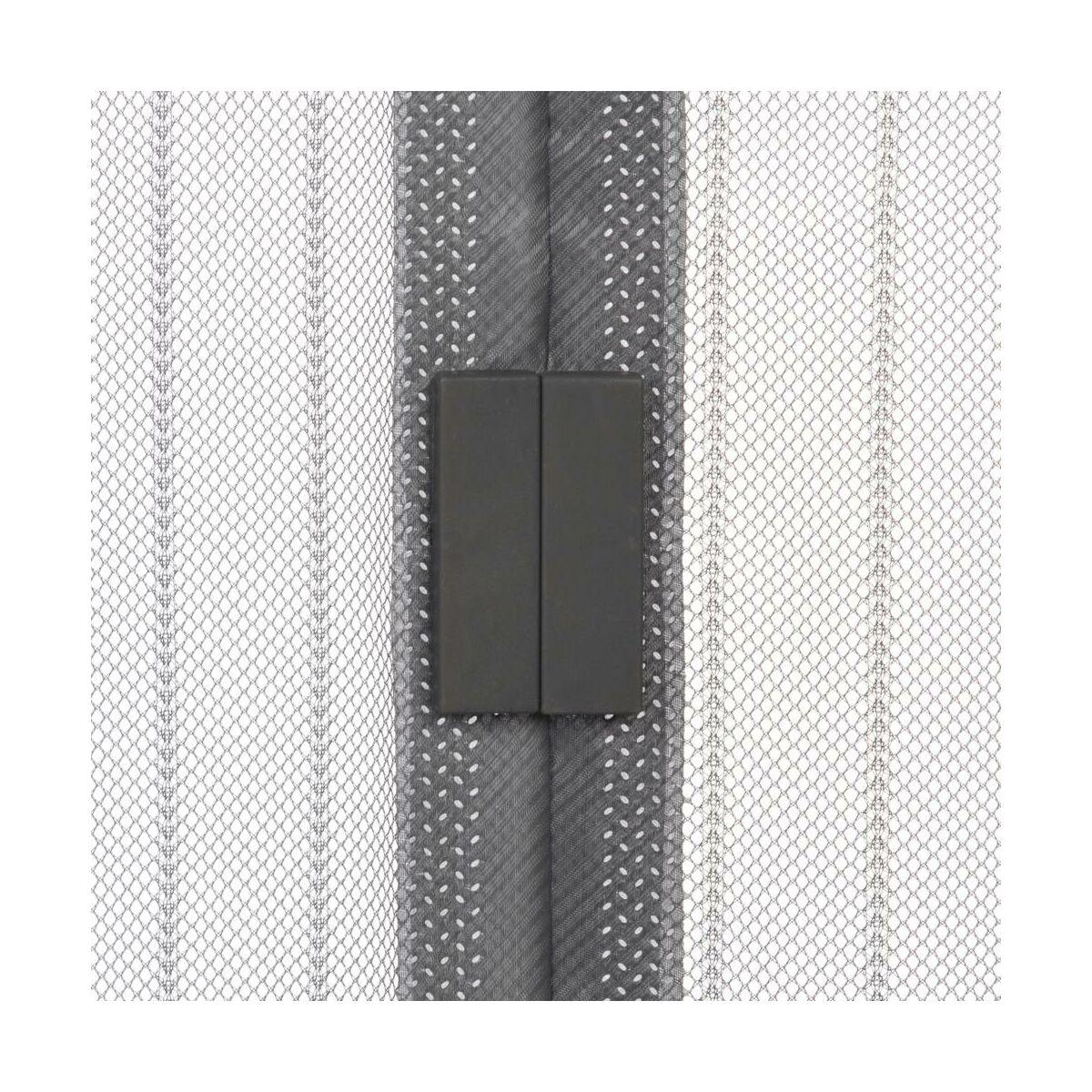 Moskitiera Na Drzwi Z Magnesem 100 X 220 Cm Szara Artens Moskitiery W Atrakcyjnej Cenie W Sklepach Leroy Merlin