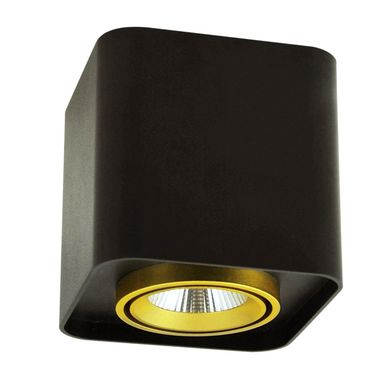 Oprawa natynkowa XENO IP20 czarna LED POLUX