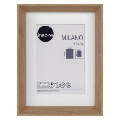 Ramka na zdjęcia Milano 18 x 24 cm dąb MDF Inspire