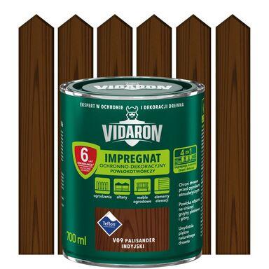 Impregnat do drewna POWŁOKOTWÓRCZY 0.7 l Palisander indyjski VIDARON