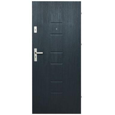 Drzwi zewnętrzne MDF Master 04 grafit 80P Domidor