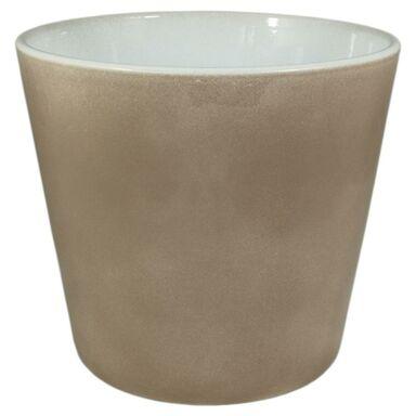 Osłonka ceramiczna 23 cm brązowa 44023/151 CERMAX