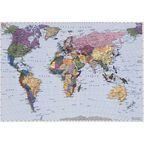 Fototapeta WORLD MAP 188 x 270 cm