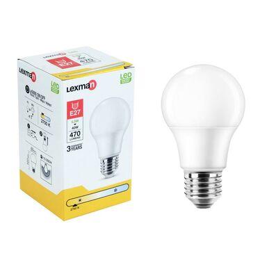 Żarówka LED E27 5.5 W = 40 W 470 lm Ciepła LEXMAN