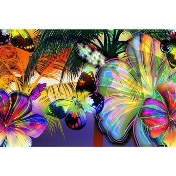 Fototapeta COLOR FLOWERS 254 x 416 cm
