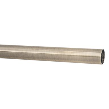 Drążek do karnisza 200 cm antyczne złoto 28 mm metalowy INSPIRE