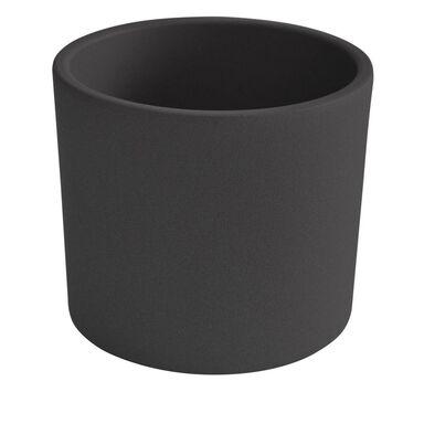 Osłonka ceramiczna 23 cm antracytowa WALEC CERAMIK