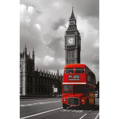 Plakat LONDON RED BUS 61 x 91.5 cm