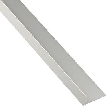 Kątownik aluminiowy 1 m x 19.5 x 16.5 mm anodowany srebrny