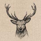 Serwetki eko Deer 33 x 33 cm 20 szt.