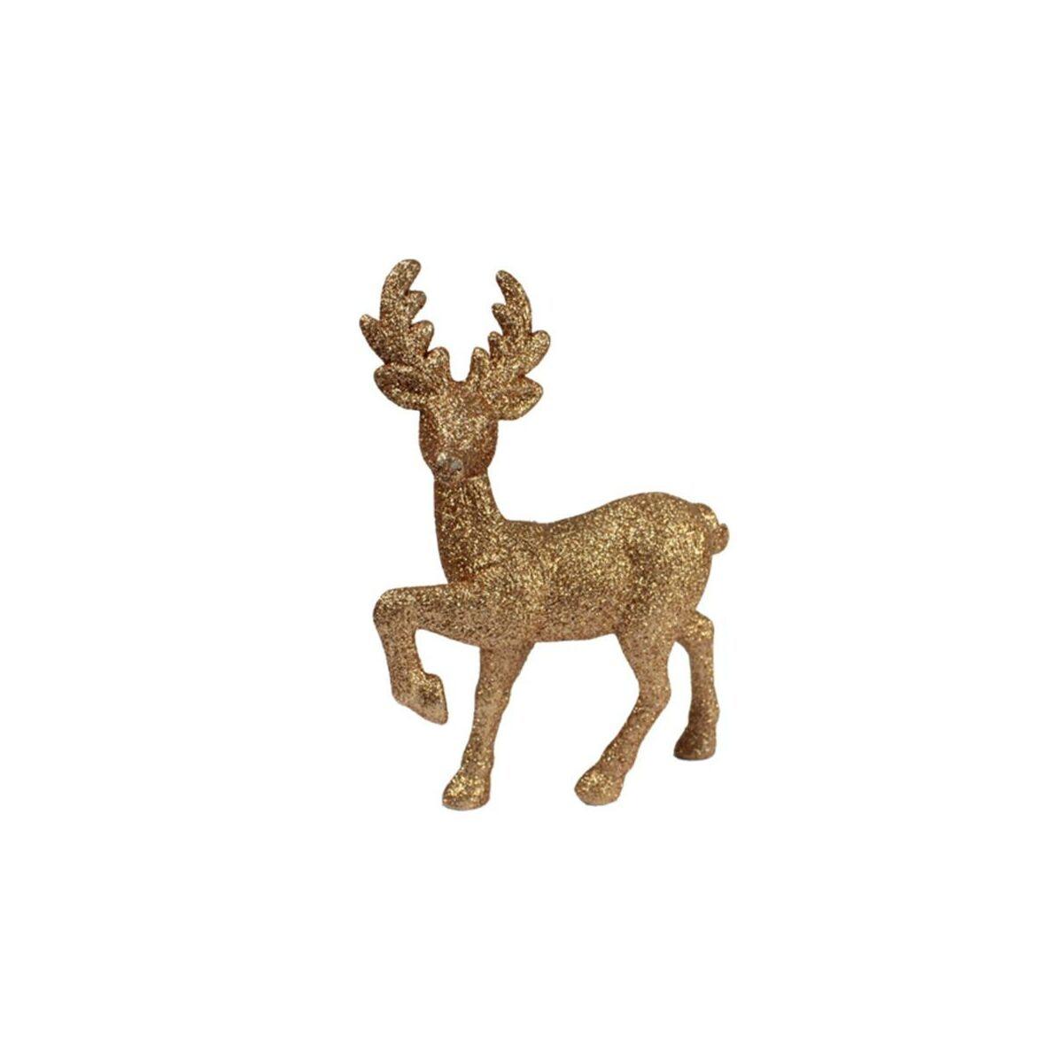 Figurka Zloty Jelen 20 Cm Swieczniki I Dekoracje Swiateczne W Atrakcyjnej Cenie W Sklepach Leroy Merlin