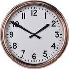 Zegar ścienny śr. 27 cm miedziany