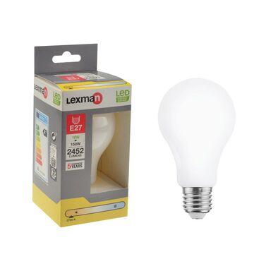 Żarówka LED E27 16 W = 150 W 2452 lm Ciepła LEXMAN