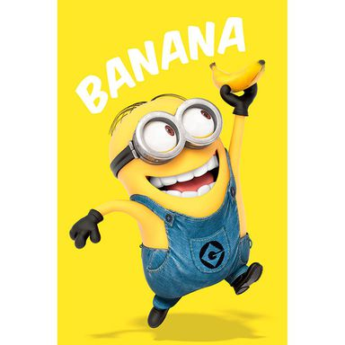 Plakat DESPICABLE ME - BANANA 61 x 91.5 cm