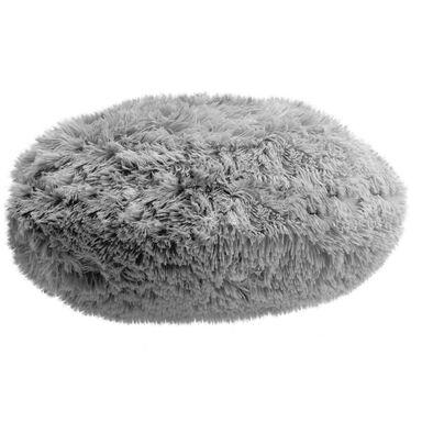 Poduszka Okragla Queen Srebrna 45 X 45 Cm Poduszki Dekoracyjne W Atrakcyjnej Cenie W Sklepach Leroy Merlin