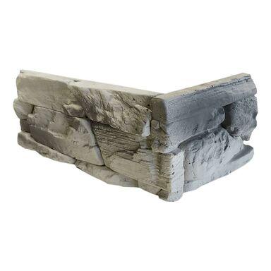 Narożnik betonowy LEMNOS Biało-szary STEINBLAU