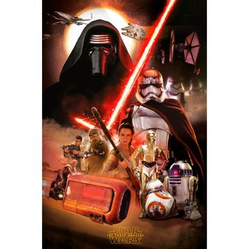 Plakat Star Wars Episode 7 61 X 915 Cm
