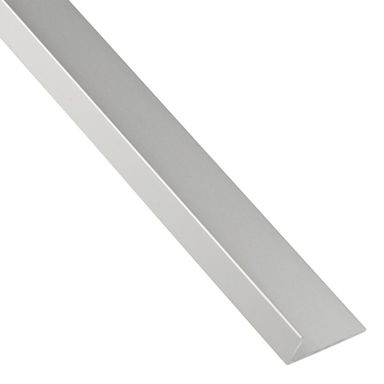 Kątownik aluminiowy 1 m x 30 x 20 mm anodowany srebrny