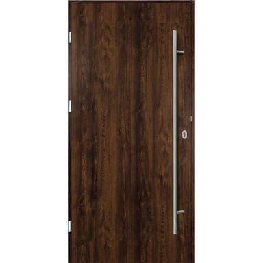 Drzwi wejściowe SOLID Orzech 90 Lewe