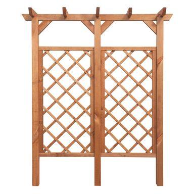 Pergola ogrodowa 160 x 35 x 188 cm drewniana MINI STELMET
