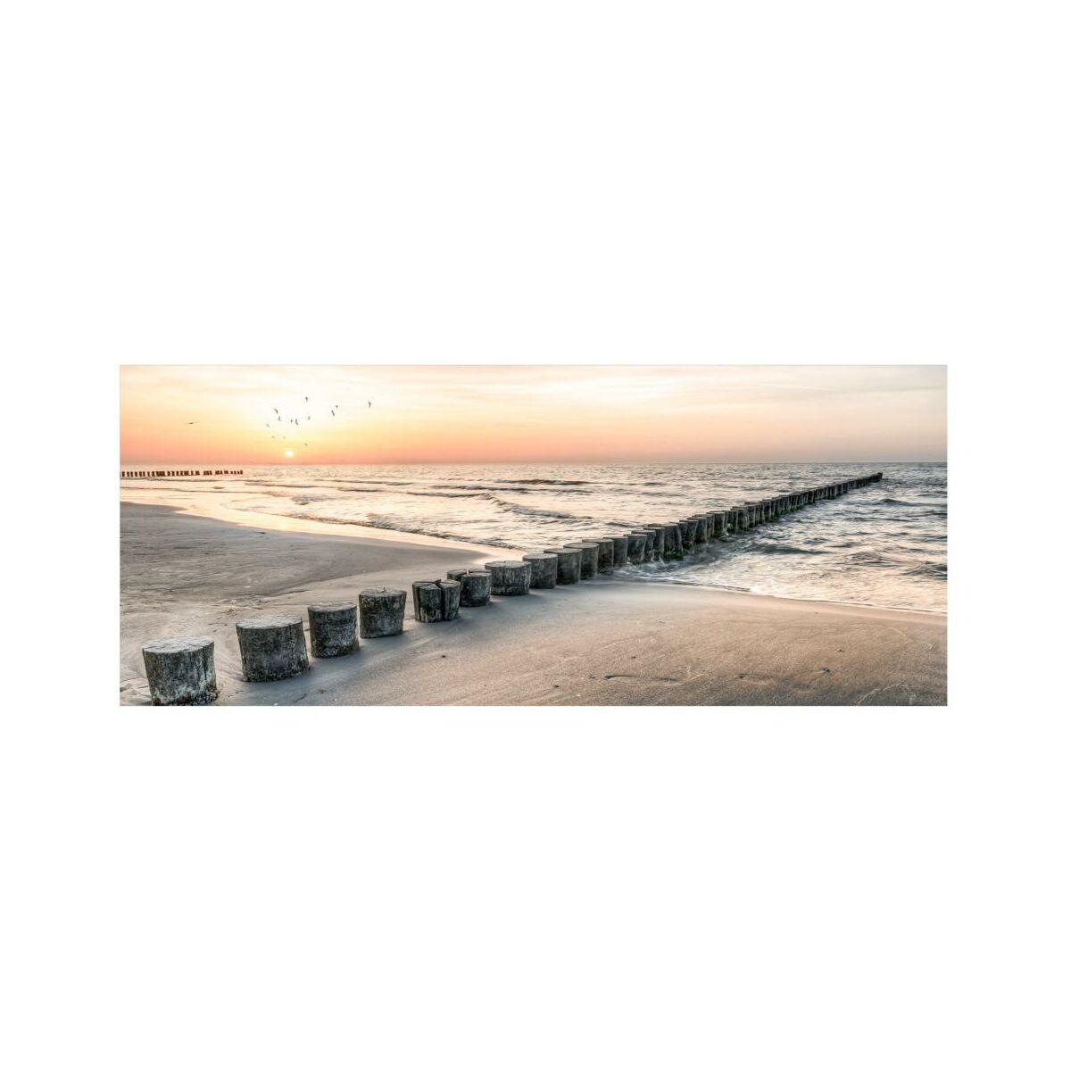 Obraz Na Szkle Jetty 125 X 50 Cm Obrazy Kanwy W Atrakcyjnej Cenie W Sklepach Leroy Merlin