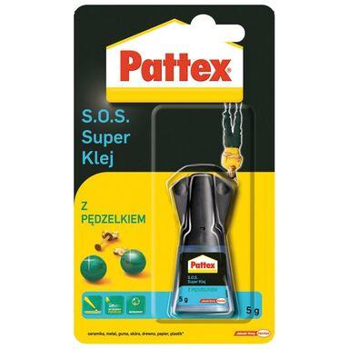 Klej błyskawiczny S.O.S. Z PĘDZELKIEM PATTEX