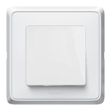 Włącznik pojedynczy CARIVA  biały  LEGRAND