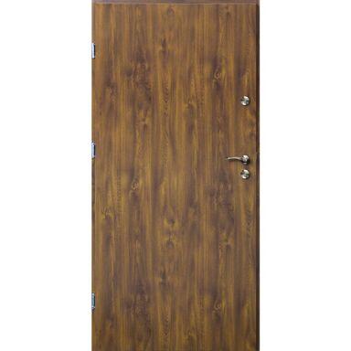 Drzwi wejściowe TRO ARTE Złoty dąb 80 Lewe OK DOORS TRENDLINE