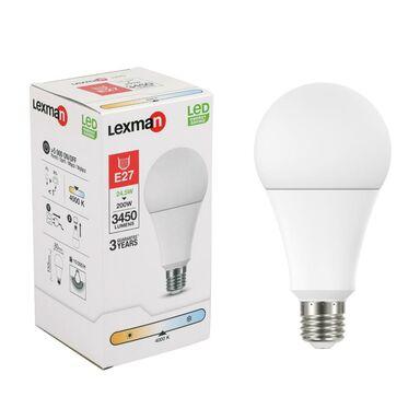 Żarówka LED E27 24.5 W = 200 W 3450 lm Neutralna LEXMAN