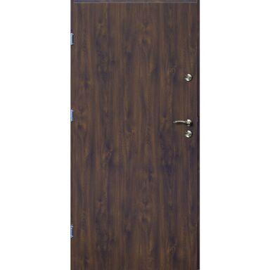 Drzwi wejściowe TRO ARTE Orzech 90 Lewe OK DOORS TRENDLINE