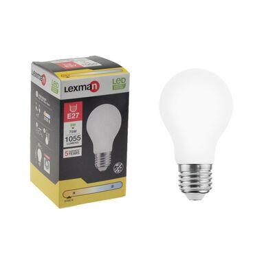 Żarówka LED E27 z czujnikiem zmierzchu 8 W = 75 W 1055 lm Ciepła LEXMAN