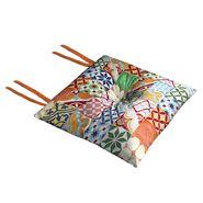 Poduszka na krzesło Silla Tropical multikolor 40 x 40 x 2 cm