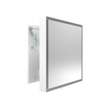 Lustro łazienkowe ODSUWANE LED 58 x 60 MIRANO