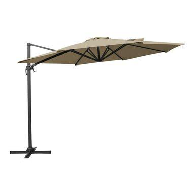 Parasol ogrodowy 270 x 350 cm beżowy KAZUAR