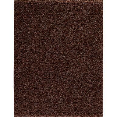 Dywan LUMINI brązowy 200 x 280 cm wys. runa 40 mm INSPIRE