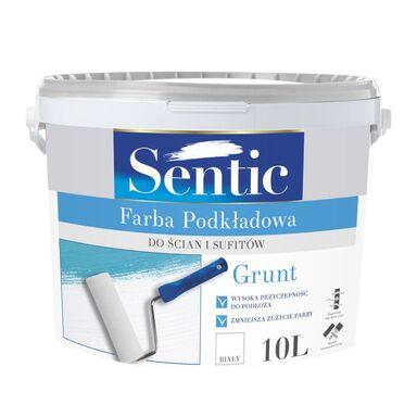 Farba podkładowa GRUNT 10 l Biała SENTIC