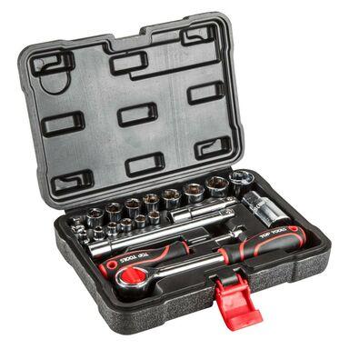 Zestaw kluczy nasadowych 38D520 TOP TOOLS