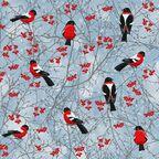 Serwetki świąteczne WINTER BIRDS 33 x 33 cm 20 szt.