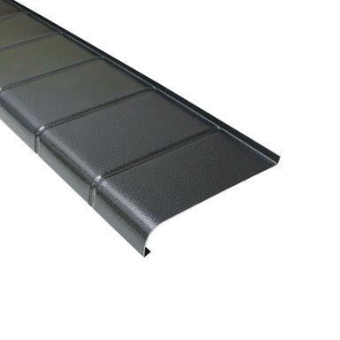 Parapet zewnętrzny ALUMINIOWY Antracyt 20 x 200 cm DOMIDOR