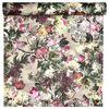Tapeta w kwiaty MARGE różowa winylowa na flizelinie