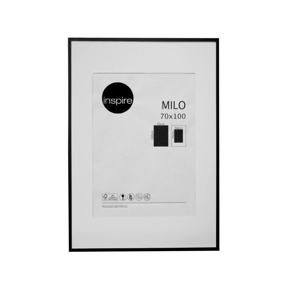 Ramka Na Zdjecia Milo 70 X 100 Cm Czarna Mdf Inspire Ramki Na Zdjecia W Atrakcyjnej Cenie W Sklepach Leroy Merlin