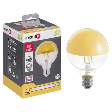 Żarówka dekoracyjna LED E27 (230 V) 4 W 600 lm LEXMAN