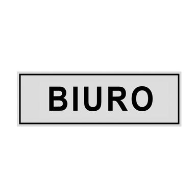 Znak informacyjny BIURO