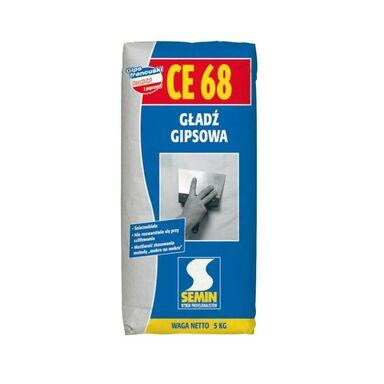 Gładź szpachlowa GIPSOWA CE68 5 kg SEMIN