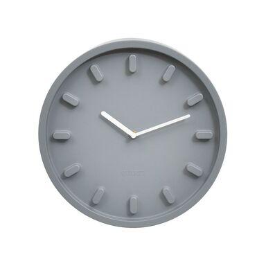 Zegar ścienny śr. 30.5 cm szary